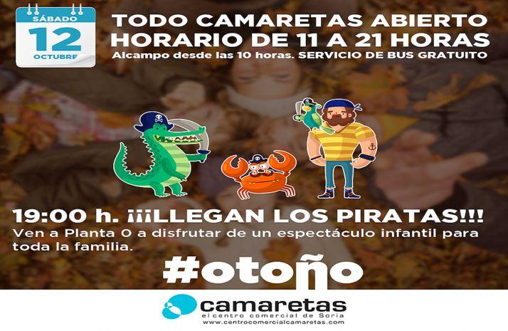 Foto 1 - El Centro Comercial Camaretas abre por El Pilar