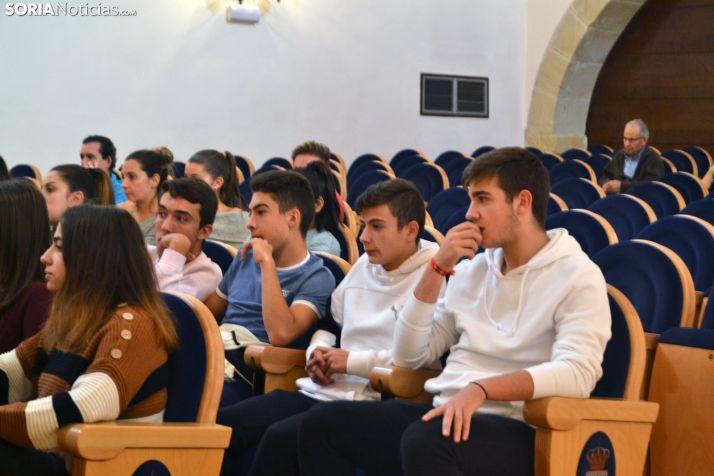 Una imagen del acto estudiantil de este martes. /SN