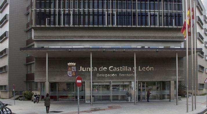 Imagen del edificio de la Delegación Territorial de Castilla y León en Soria. /SN