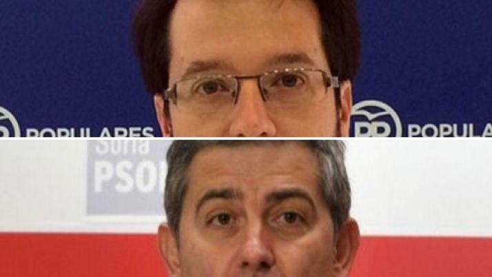Tomás Cabezón y Javier Antón.