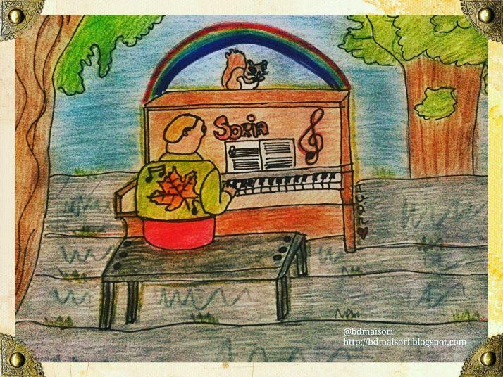 Uno de los dibujos de Iván
