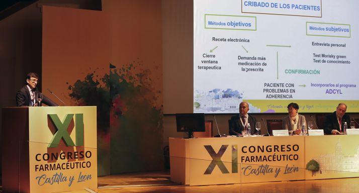 Imagen de la segunda jornada del Congreso Farmacéutico de CyL.