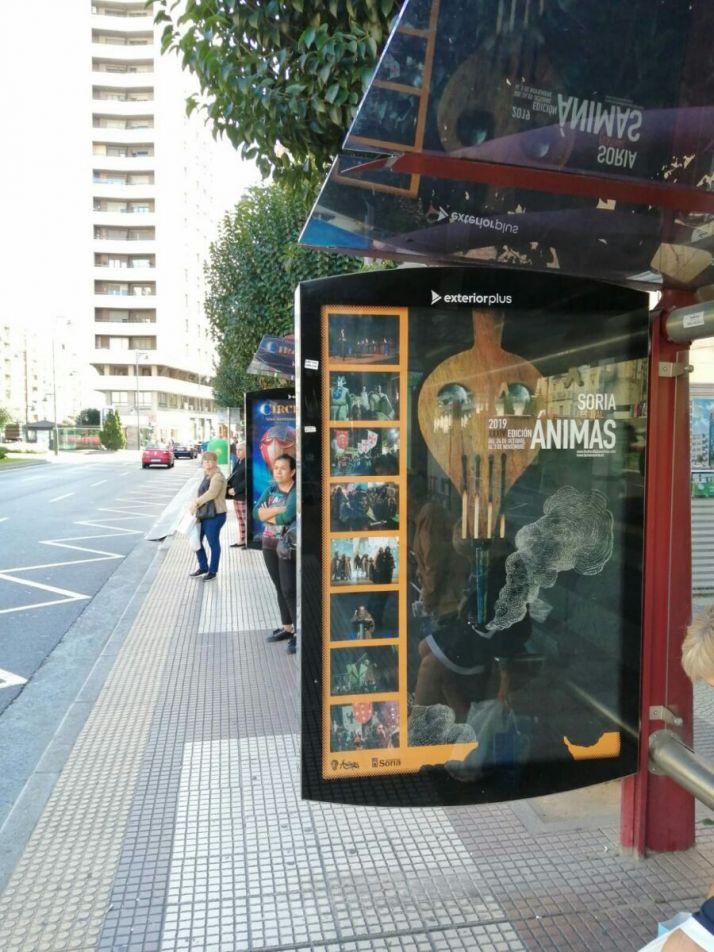 Promoción del Festival de las Ánimas en el exterior.