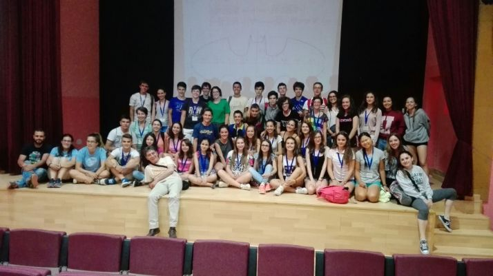 Alumnos de la Universidad Autónoma de Madrid en Borobia.