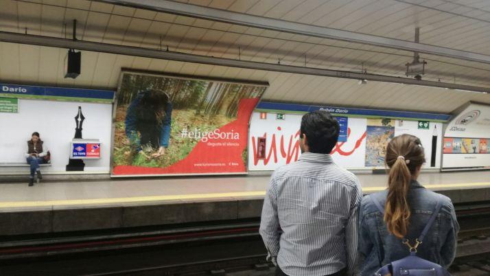 Foto 1 - Las setas sorianas crecen en el Metro de Madrid