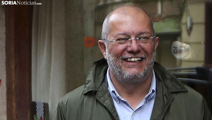 Francisco Igea, en una visita a Soria en abril. /SN