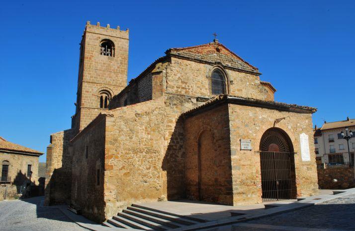 Iglesia de San Miguel en Ágreda. /Diputación