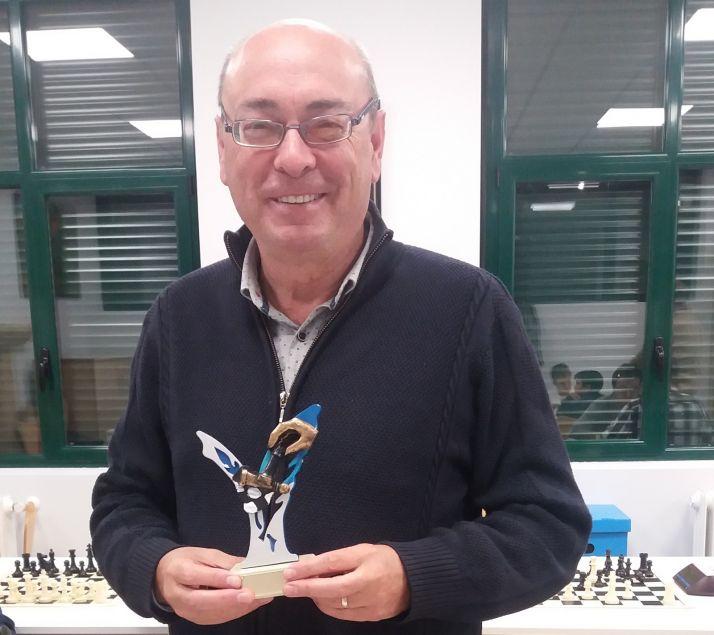 El campeón, José Luis Díaz Collado.
