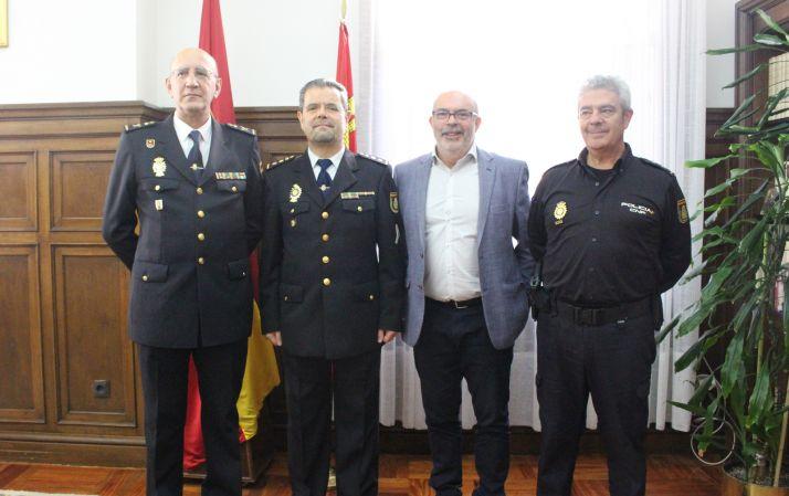 El comisario Honorio Pérez Pablos es nombrado jefe de la Comisaría Provincial de la Policía Nacional