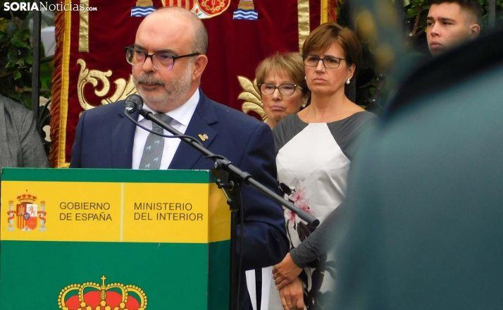 Miguel Latorre, subdelegado del Gobierno en Soria este sábado 12 de octubre. /SN