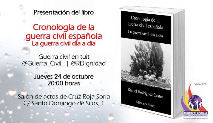 Foto 1 - Presentan el jueves un libro sobre la cronología de la Guerra Civil
