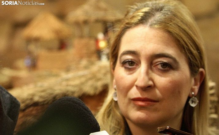 María José Jiménez, alcaldesa de Garray. /SN