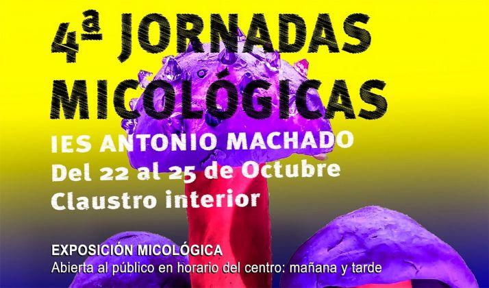 Foto 1 - Abre una nueva edición de las Jornadas Micológicas en el IES Machado