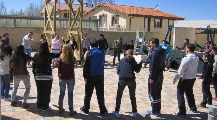 Participantes en un curso de monitores de la Diputación. /Dip.