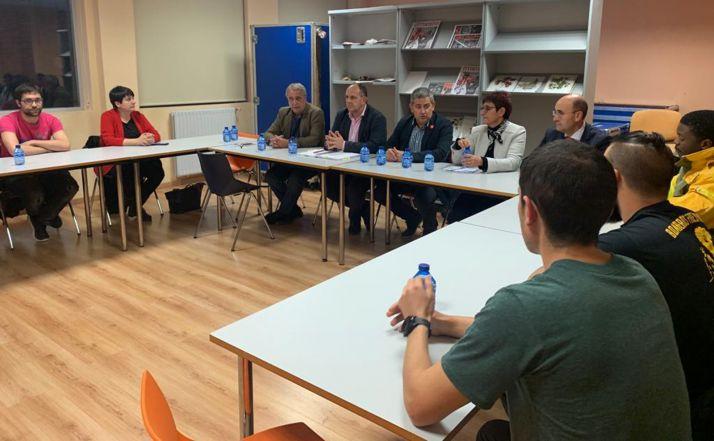 Una imagen de la reunión de este miércoles.
