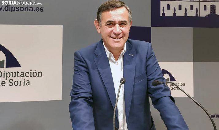 Antonio Pardo durante la rueda de prensa de hoy. /SN