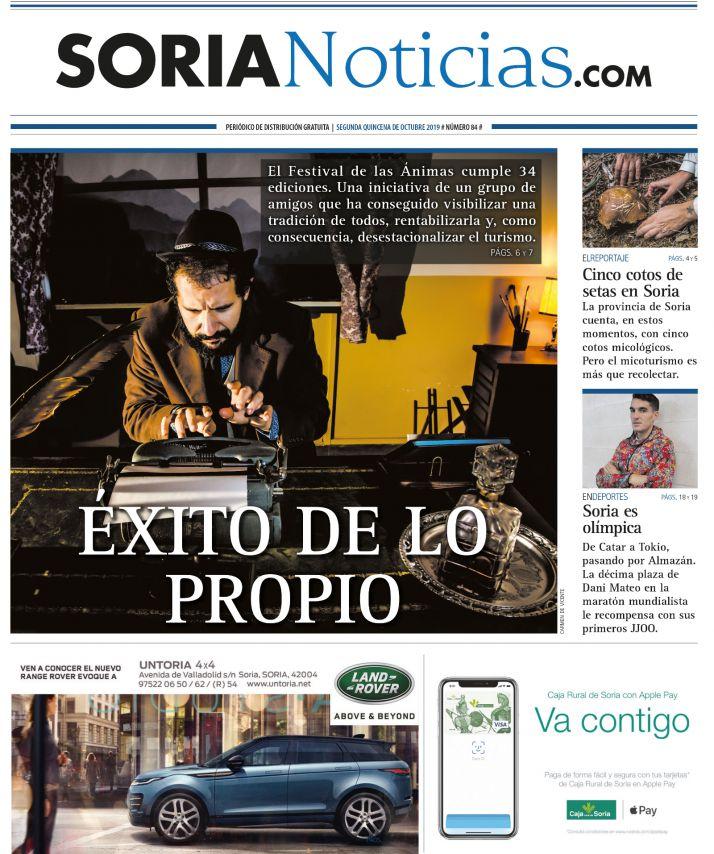 Portada número 84 de Soria Noticias