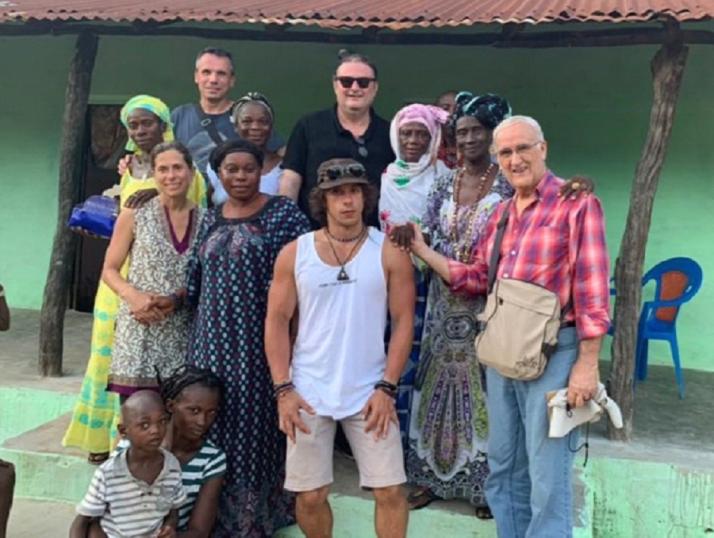Foto 1 - El Campus de Soria y Tierra Sin Males visitan Guinea Bissau
