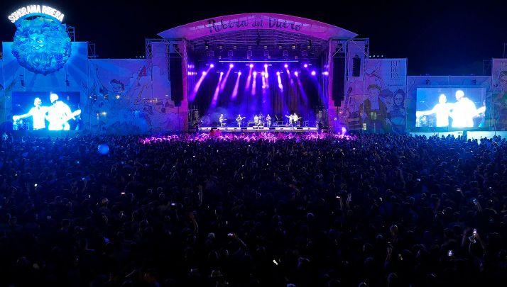 Imagen de uno de los conciertos del festival.