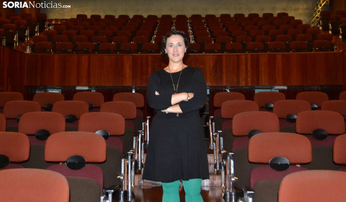 La actriz soriana Tatiana Ramos Ruiz. /SN