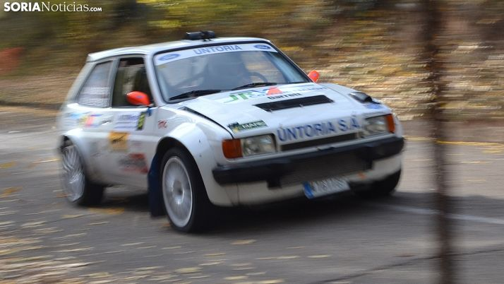 El Ford Fiesta 1.3 Turbo pilotado por Valdenebro este domingo. /SN