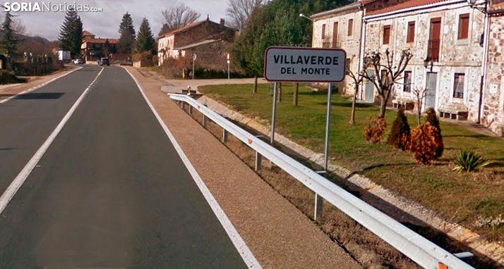 Imagen de la entrada a la localidad por la N-234. /GM