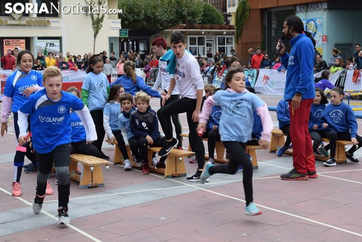Foto 1 - El CAEP lleva el atletismo al centro de Soria