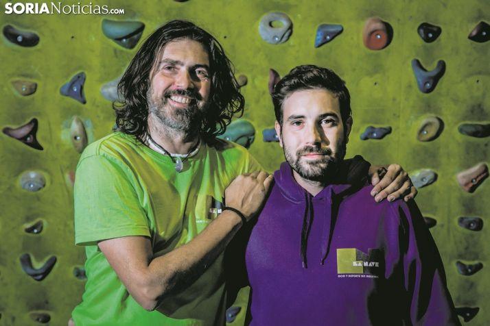 Anselo Díaz y Gonzalo Espino, los ideólogos de La Nave.