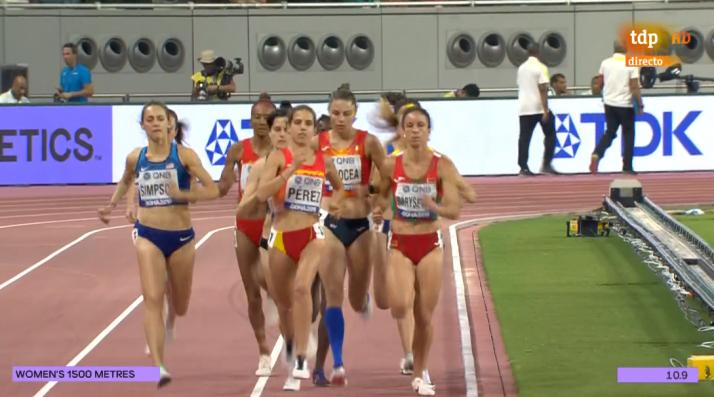La soriana Marta Pérez, directa a la semifinal del mundial