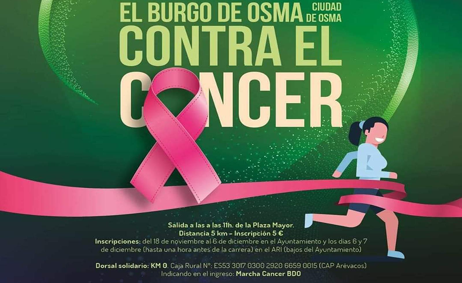 claramente suizo carga  El Burgo correrá su I Marcha contra el cáncer el 7 de diciembre -  SoriaNoticias