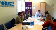 Miembros de ASAV en su última asamblea. /FOES