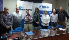Miembros de la junta directiva de AGRUTRANSO.