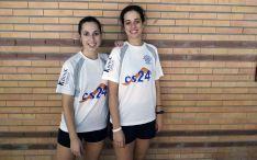 Las jugadoras sorianas que tomaban parte en la competición madrileña.