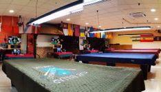 Uno de los salones donde se celebra el campeonato.