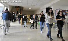 Estudiantes en las dependencias del Campus. /SN