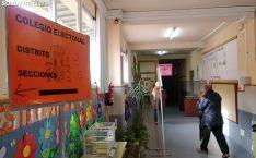 Un colegio electoral en la capital soriana. /SN