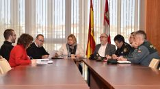 Reunión del Comité Territorial de Seguridad. /Jta.