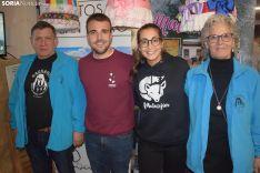 José Mari Carrascosa, Diego Castillo, Cristina Aguilera e Irene Jiménez creen en la supervivencia de sus pueblos.