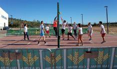 Universitarios del Campus en una jornada deportiva.