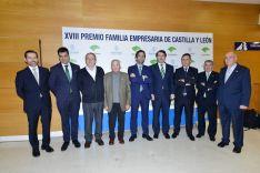 Una imagen de la entrega del XVIII Premio Familia Empresaria de CyL. /EFCyL