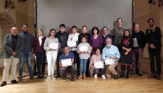 Imagen del grupo de premiados. /Dip.