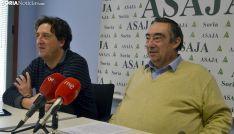 Carmelo Gómez (dcha.) y Juan Francisco Barcones este martes en rueda informativa. /SN
