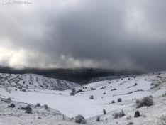Foto 3 - La nieve en Oncala presagia el temporal