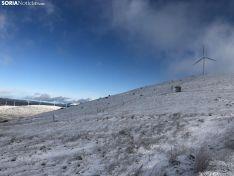 Foto 4 - La nieve en Oncala presagia el temporal