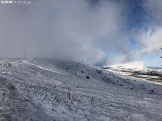 Foto 6 - La nieve en Oncala presagia el temporal