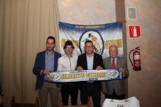 Foto 3 - La Peña Madridista Alberto Vitoria de Ágreda nombra socio de honor a Antonio Ruiz