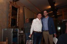 Foto 4 - La Peña Madridista Alberto Vitoria de Ágreda nombra socio de honor a Antonio Ruiz