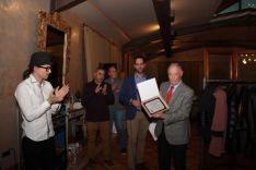 Foto 5 - La Peña Madridista Alberto Vitoria de Ágreda nombra socio de honor a Antonio Ruiz