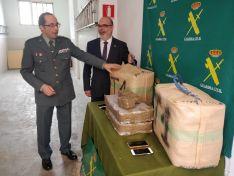 Incautados 92 kilos de hachís en Matalebreras gracias a la llamada de un vecino