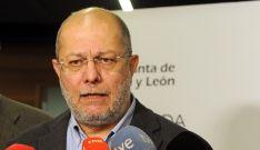 Francisco Igea, hoy ante los medios informativos. /Jta.